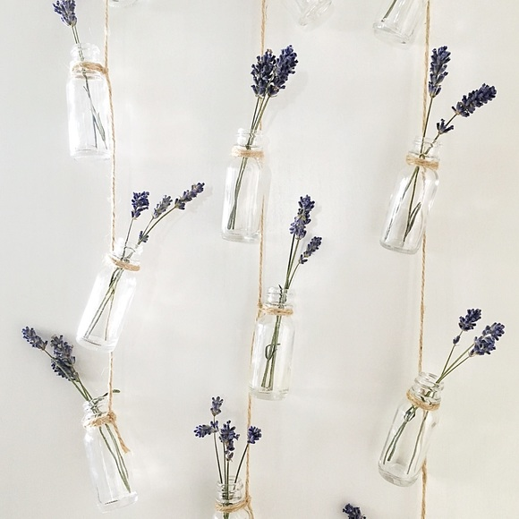 Other - Boutique   Hanging Glass Bottles